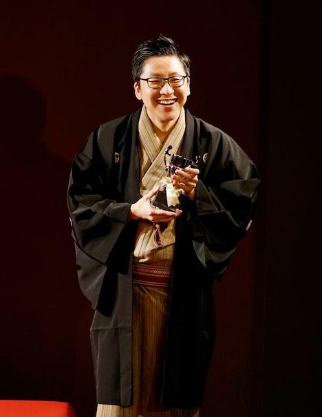 「2019年 創作大賞」を受賞した立川談吉。