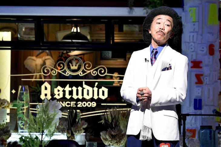 「A-Studio」に出演する木梨憲武。(c)TBS