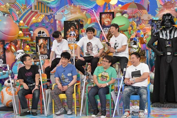 「アメトーーク!」に集結する「STAR WARS芸人」たち。(c)テレビ朝日