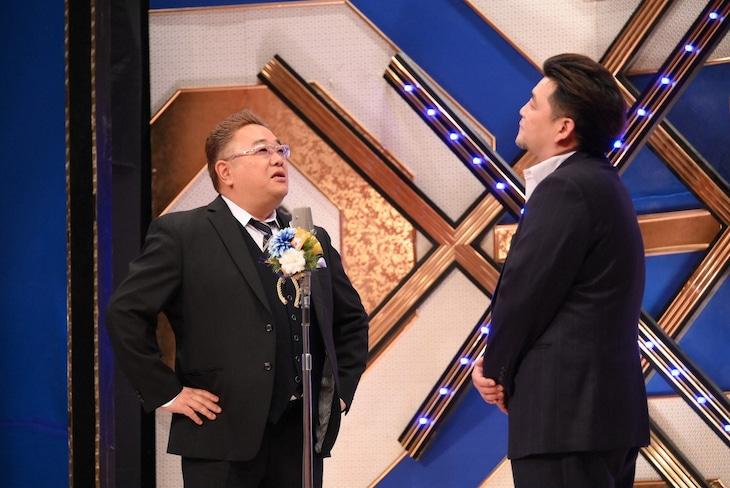 「笑いの王者が大集結!ドリーム東西ネタ合戦」に出演する、サンドウィッチマン。(c)TBS