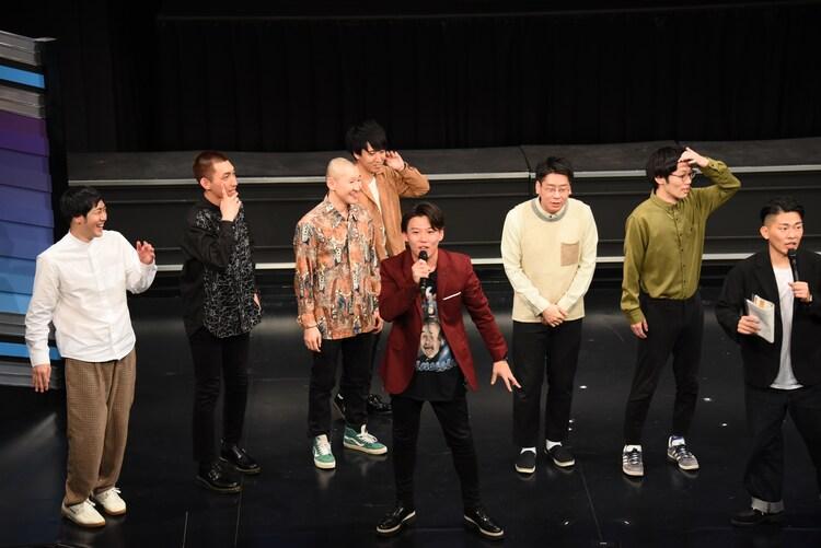 1位から3位がまでのメンツを見て、ジャングルポケット太田は「ゴリゴリの実力派」とコメント。