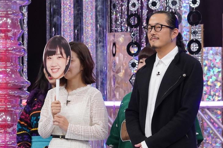 「ビューティープライド ~美しきメイクの戦い~」のワンシーン。(c)日本テレビ