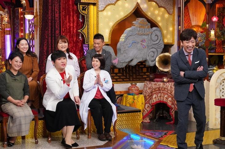 「今夜くらべてみました 3時間SP」のワンシーン。(c)日本テレビ