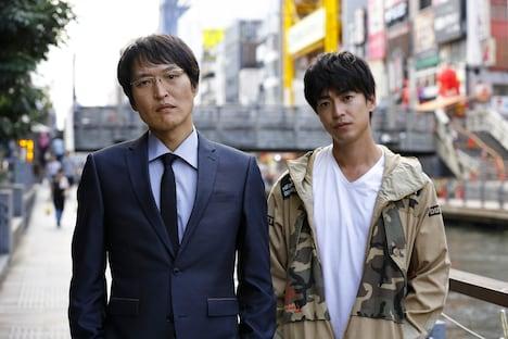 (左から)千原ジュニア、大東駿介。(c)関西テレビ