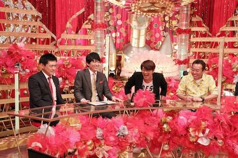 (左から)博多華丸・大吉、さまぁ~ず。(c)関西テレビ