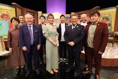 「ものほん ~ウワサの東北見聞録~」の出演者たち。(c)NHK
