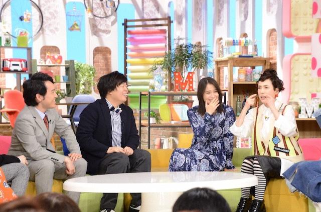 左から宮下草薙、広瀬アリス、久本雅美。(c)日本テレビ