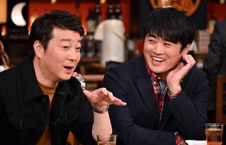 「人生最高レストラン」に出演する(左から)加藤浩次、劇団ひとり。(c)TBS