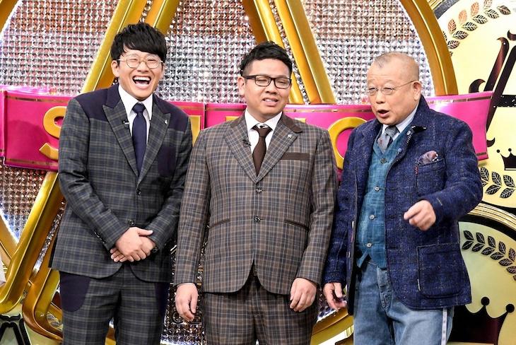 「A-Studio」に出演する(左から)ミキ、笑福亭鶴瓶。(c)TBS