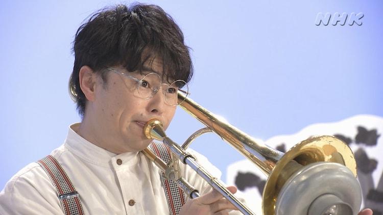 「ブレーメンのおんがくたい」に出演する浜野謙太。(c)NHK