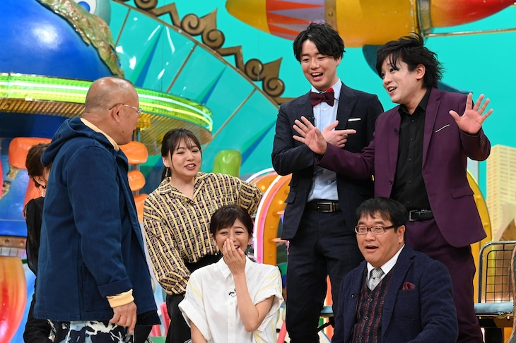 「ザ!世界仰天ニュース 芸能人苦労話2時間スペシャル」のワンシーン。(c)日本テレビ