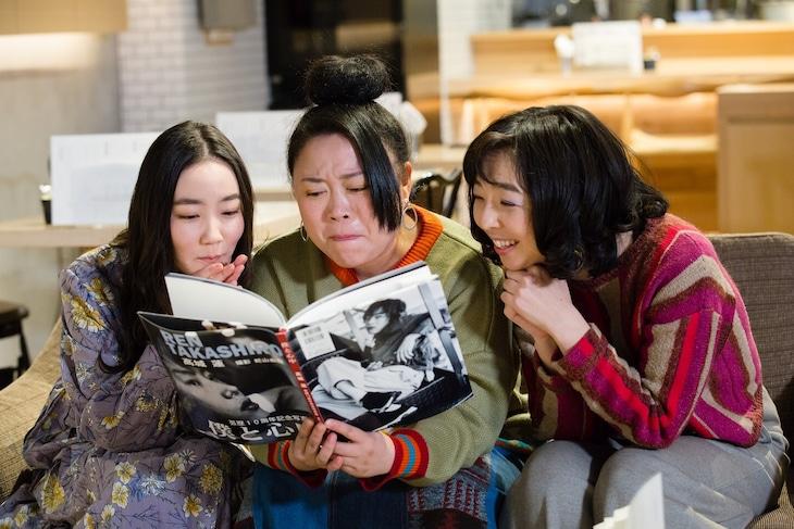 オムニバスドラマ「エ・キ・ス・ト・ラ!!!」第4話に出演する(左から)清水葉月、ニッチェ江上、宮部純子。(c)関西テレビ