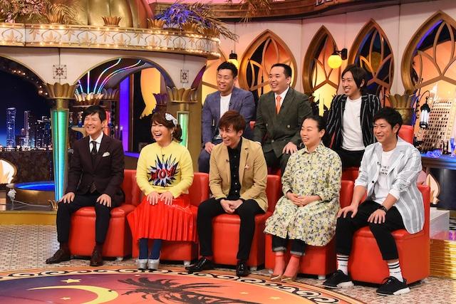 「快傑えみちゃんねる」のゲスト出演者たち。(c)関西テレビ