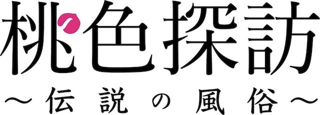 「桃色探訪~伝説の風俗~」ロゴ