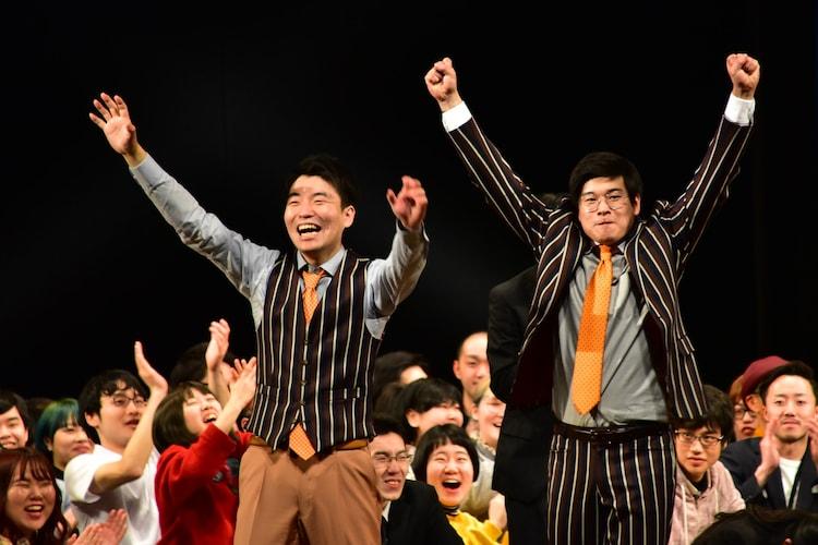 NSC東京校の25期生らが出演する「NSC大ライブTOKYO 2020」で優勝したゴヤ。