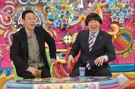 (左から)東野幸治、蛍原徹。(c)テレビ朝日