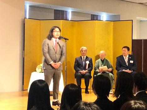 日本ホッケー協会のアンバサダーに任命されたロッチ中岡。