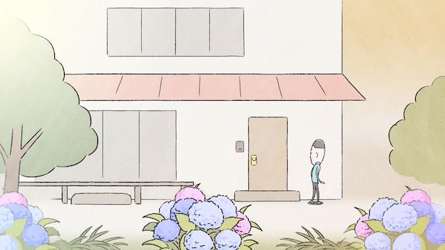アニメ「大家さんと僕」より。