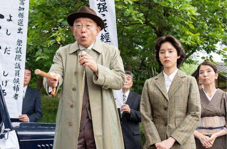 笑福亭鶴瓶が主演を務める「アメリカに負けなかった男~バカヤロー総理 吉田茂~」より。