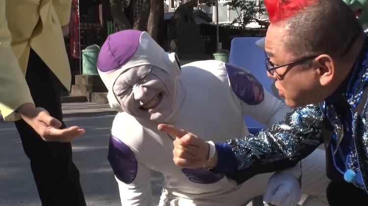 ドラゴンボール芸人が催眠術師・十文字幻斎とのリベンジマッチに臨む「それって!?実際どうなの課」のワンシーン。(c)中京テレビ