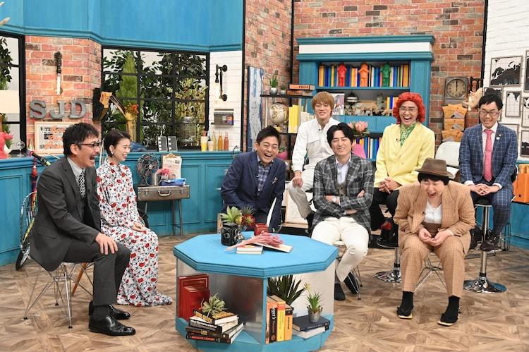 スタジオの様子。(c)中京テレビ