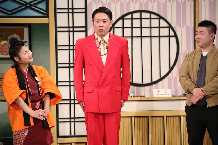 吉本新喜劇デビューを果たした千葉公平。