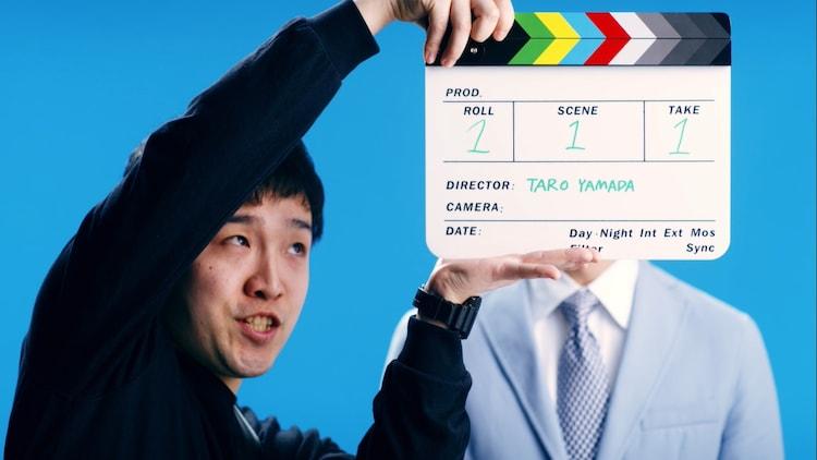 Web動画「宮迫博之 新CM!?撮影現場で大変身」より。
