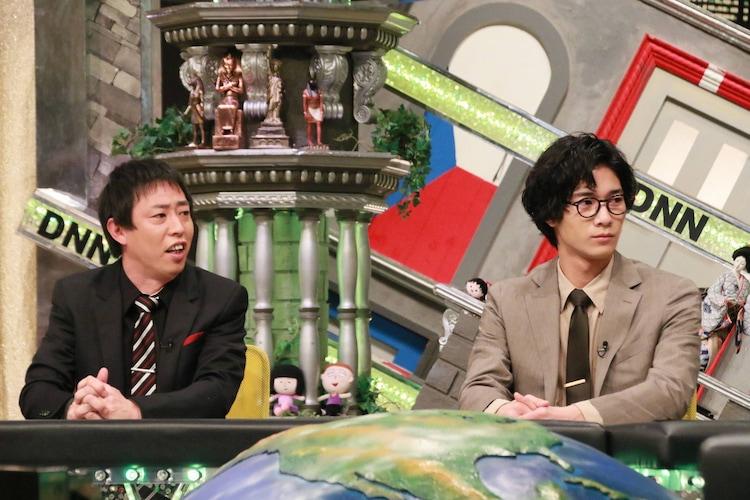 「全力!脱力タイムズ」に出演する(左から)さらば青春の光・森田、清原翔。(c)フジテレビ