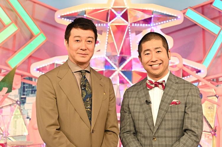 (左から)加藤浩次、ハライチ澤部。(c)TBS