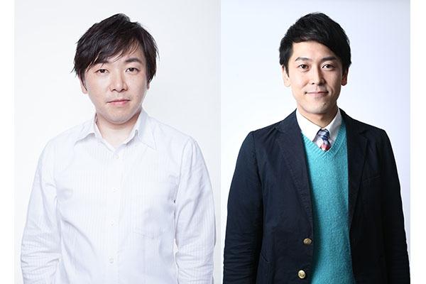 ツィンテル(左から倉沢学、せとたけお)