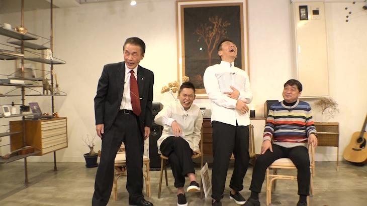 おぼん・こぼんがゲスト出演する「太田上田」のワンシーン。(c)中京テレビ