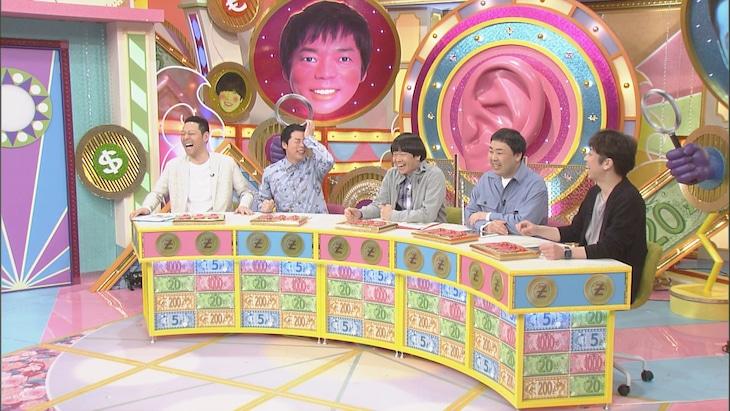「本能Z」に出演する(左から)東野幸治、今田耕司、蛍原徹、フットボールアワー。(c)CBC