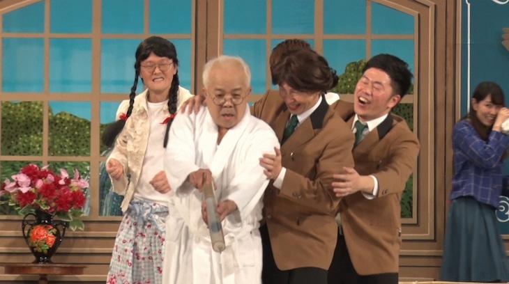 「ガチンコ即興芝居!アドリバー」より。(c)読売テレビ