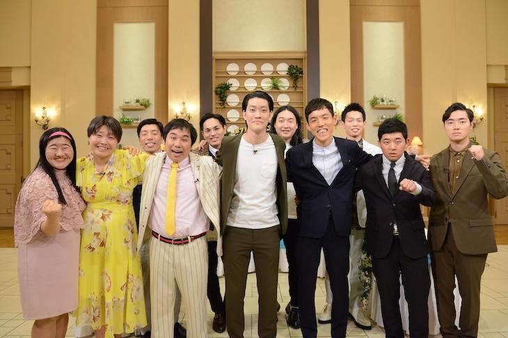 「~第7世代が○○してみた~ お笑いG7サミット」の出演者たち。(c)日本テレビ