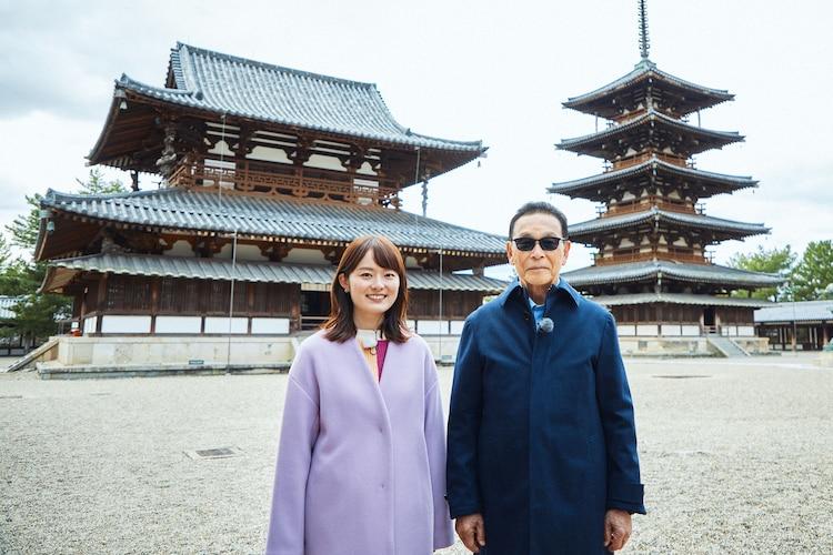 次回「ブラタモリ」では法隆寺を訪れる。(c)NHK