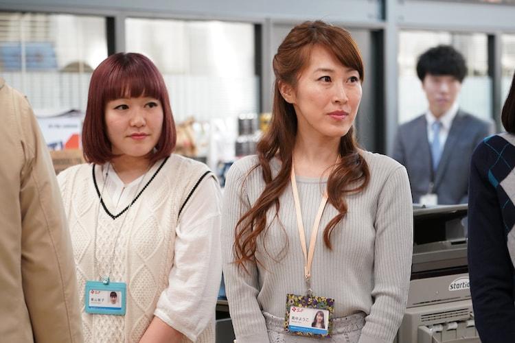 左から根菜キャバレーきったん、こじらせハスキー橋爪。(c)日本テレビ