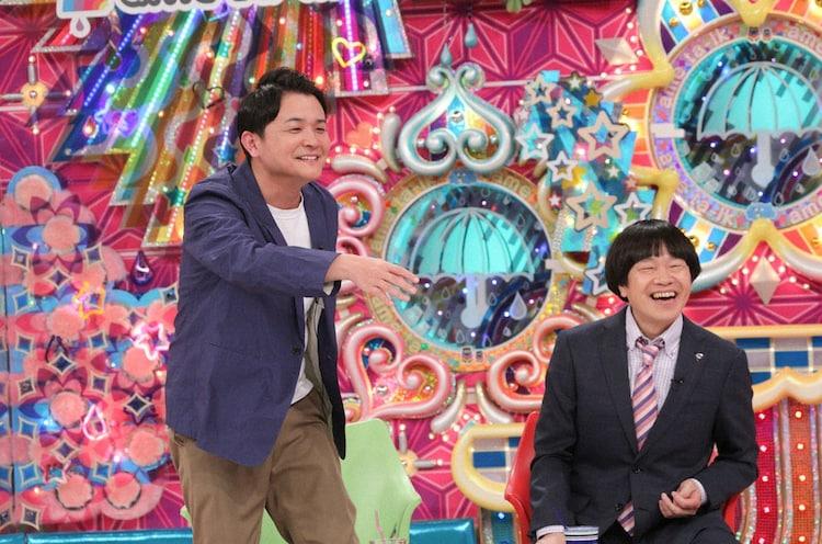 (左から)千鳥ノブ、蛍原徹。(c)テレビ朝日