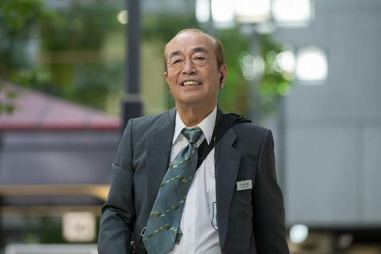 「スペシャルコント 志村けん in 探偵佐平 60歳」より。(c)NHK