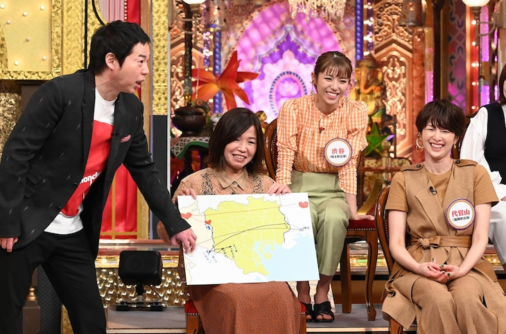 「今夜くらべてみました 2時間SP」のワンシーン。(c)日本テレビ