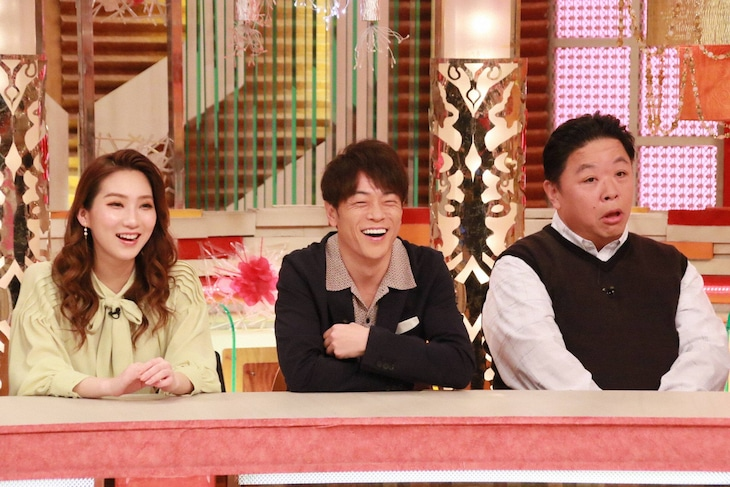 「ホンマでっか!?TV2時間SP」に出演する(左から)ファーストサマーウイカ、陣内智則、伊集院光。(c)フジテレビ