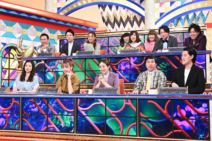 「クイズ!THE違和感」初回3時間スペシャルの出演者たち。(c)TBS