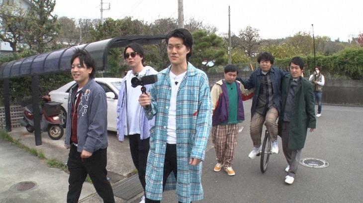 「ぺこぱ・シュウペイの家探し」のワンシーン。(c)日本テレビ