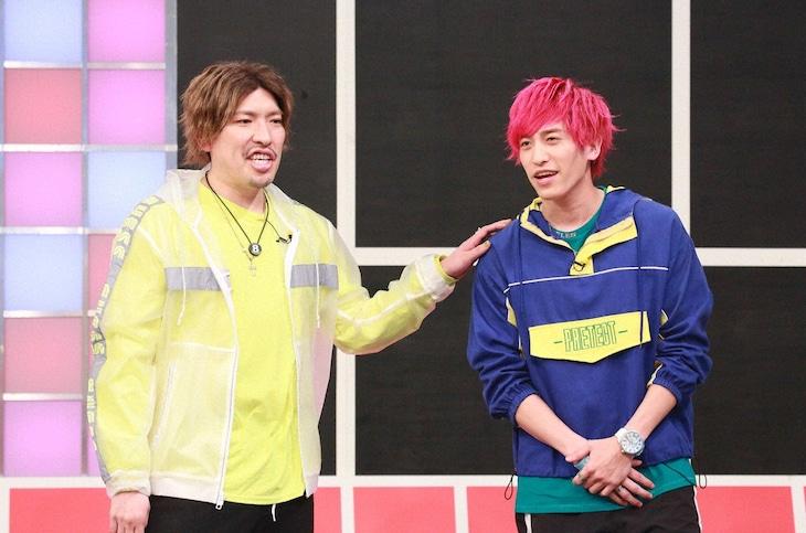 「Qさま!!」に初出演するEXIT。(c)テレビ朝日