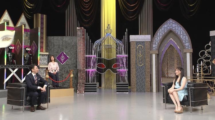 左から有吉弘行、如月さや。(c)日本テレビ