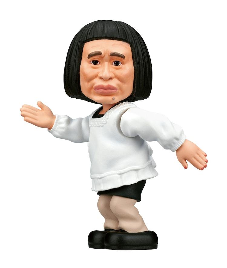 「ダウンタウンのガキの使いやあらへんで! 笑ってはいけない浜田コレクション」の浜田ロボ。(c)NTV