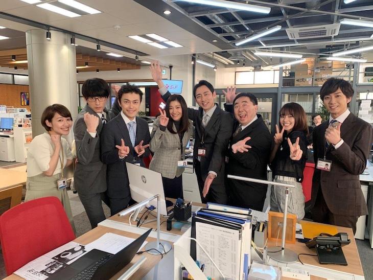 ドラマ「ハケンの品格」のレギュラーキャスト。(c)日本テレビ