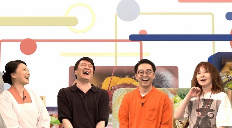 (左から)島崎和歌子、加藤浩次、おぎやはぎ矢作、YOU。(c)TBS