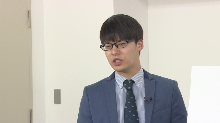 「前略、西東さん」に出演する寺田寛明。(c)中京テレビ