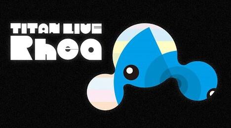 「TITAN LIVE Rhea」ロゴ