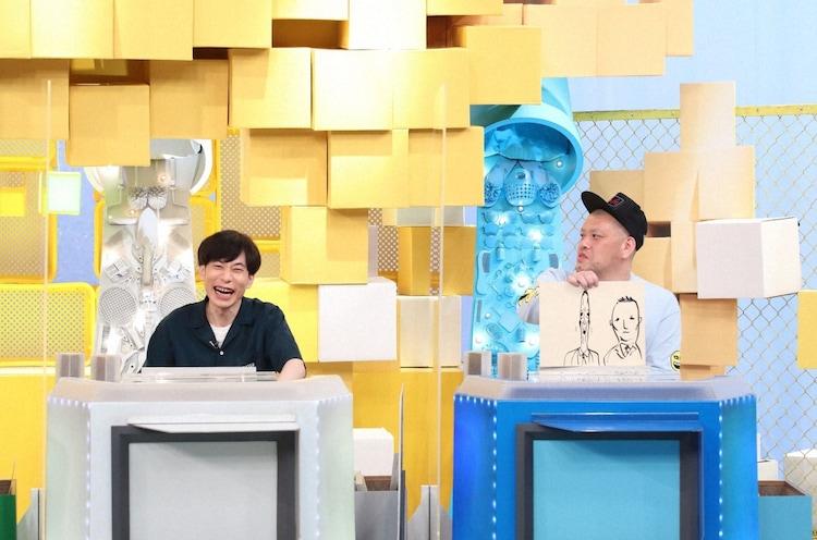 (左から)インパルス板倉、野性爆弾くっきー!。(c)ABCテレビ